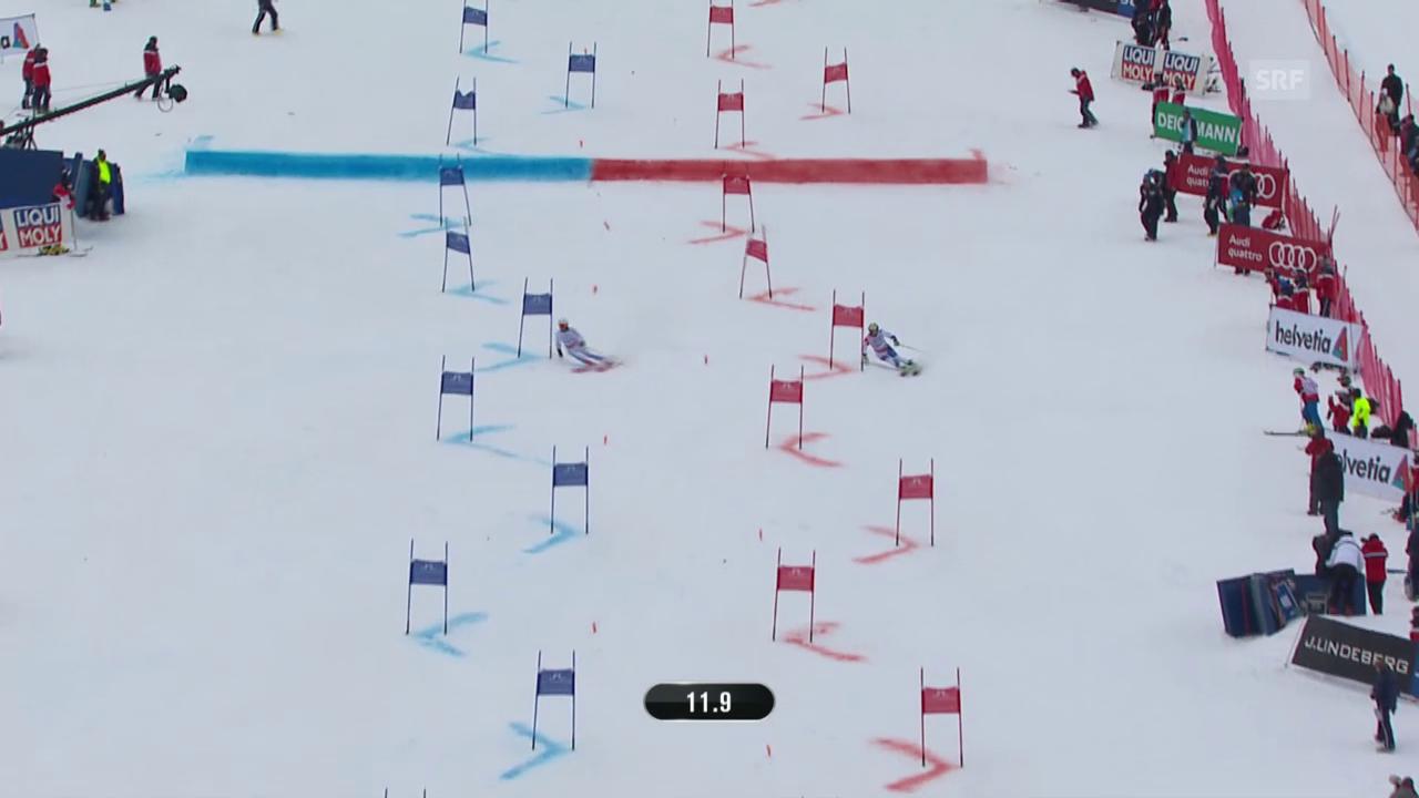 Ski alpin: WM 2015 in Vail/Beaver Creek, Team-Event, Kleiner Final Schweiz - Schweden