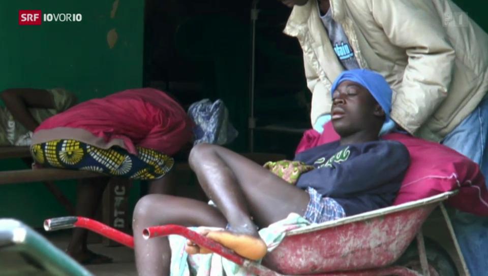 Kritische Lage in Liberia
