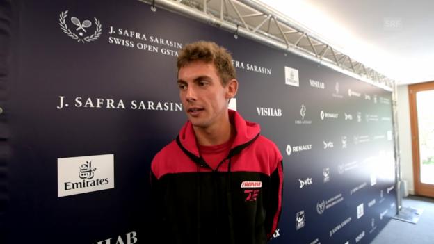 Video «Henri Laaksonen vor dem Turnier in Gstaad» abspielen