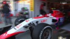 Video «Formel 1: Debüt von Fabio Leimer» abspielen