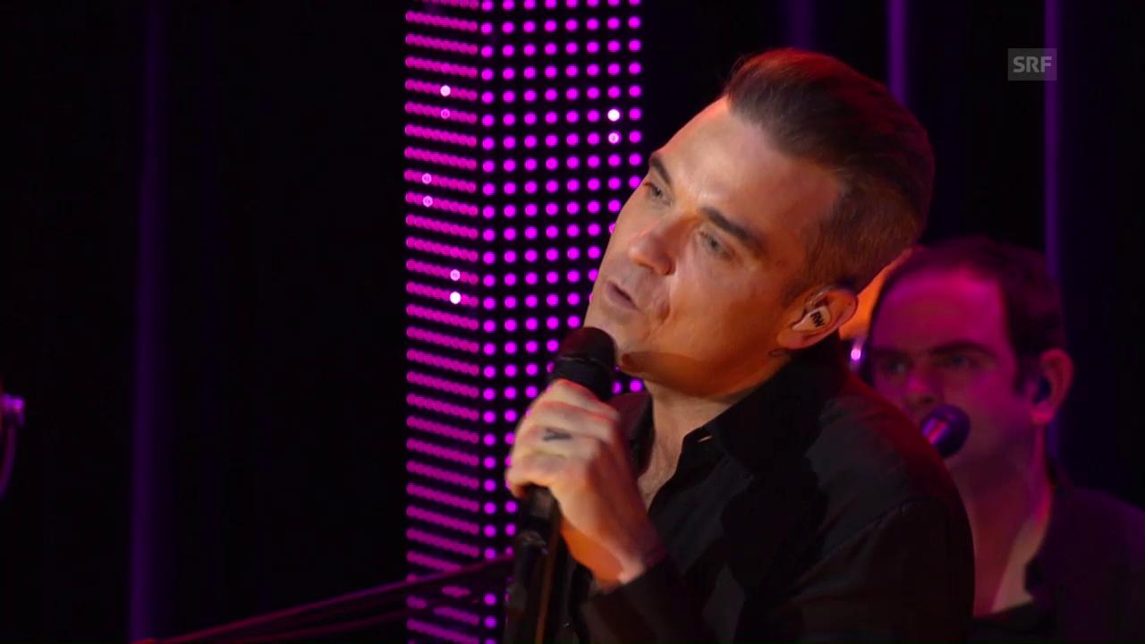 Robbie Williams «Better Man» – SRF 3 Showcase