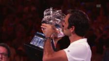 Link öffnet eine Lightbox. Video Federer: Neue Bestmarken 2018 abspielen