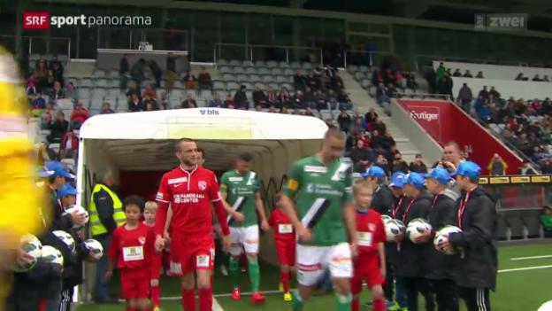 Video «Fussball: Thun - St. Gallen» abspielen