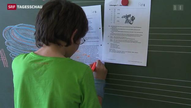 Video ««Der Lehrplan 21 muss abspecken»» abspielen