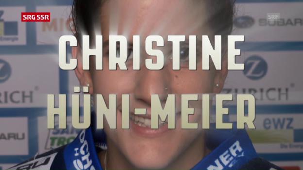 Video «Christine Hüni-Meier beste Spielerin des Jahres» abspielen
