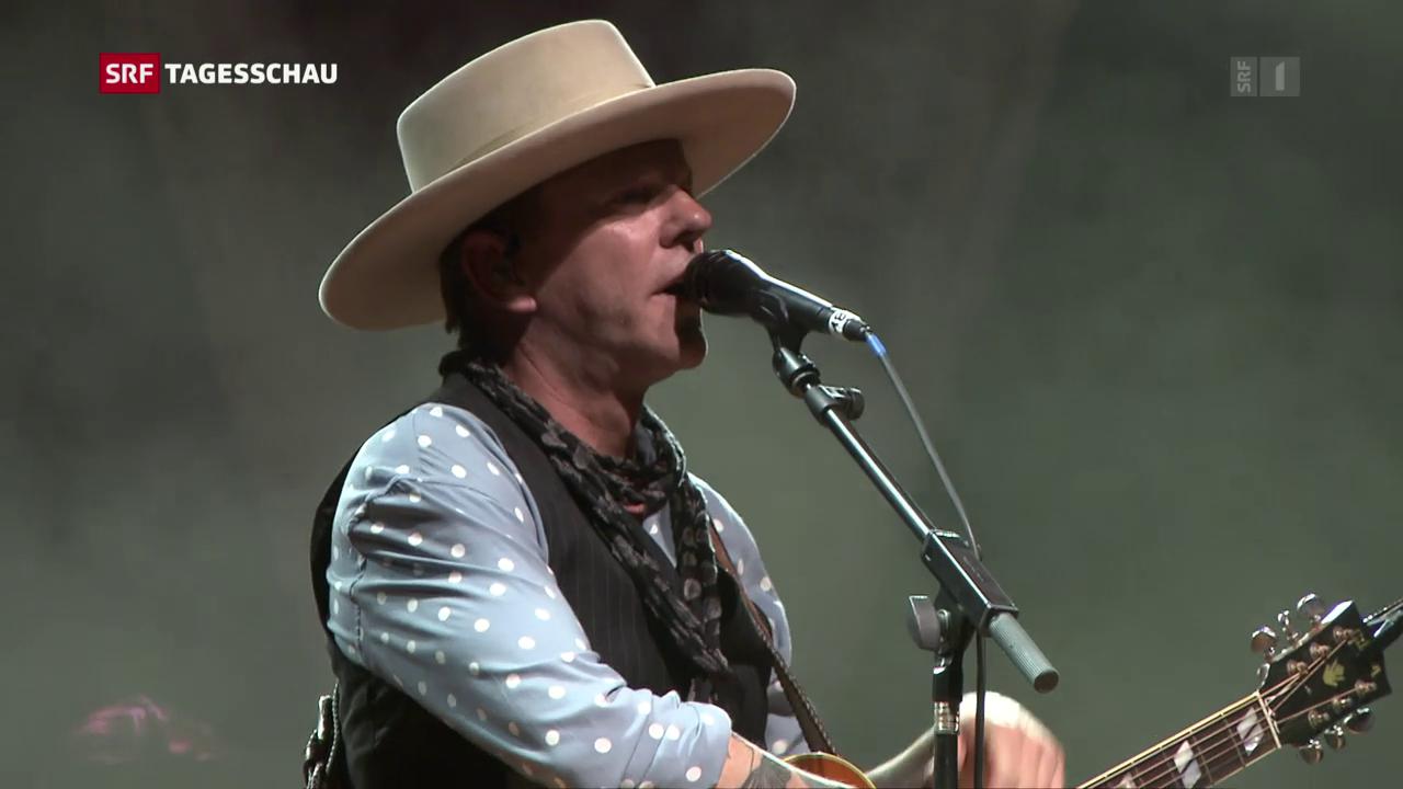 Kiefer Sutherland singt an Schweizer Festival