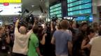 Video «Snowden nimmt Russlands Asyl-Angebot an» abspielen