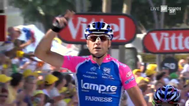 Rad: Petacchis letzter Tour-Sieg 2010