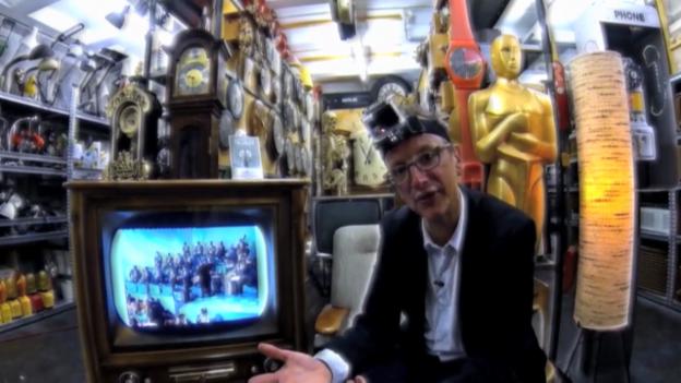 Video «Regisseur Hannes Hug und die Show «Teleboy»» abspielen