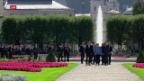Video «EU-Gipfel in Salzburg» abspielen