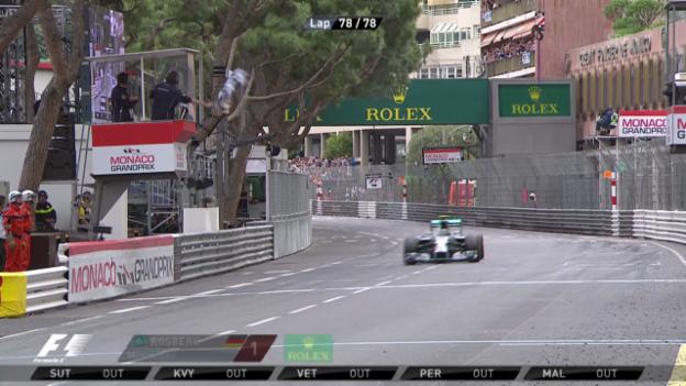 Video «Formel 1: GP Monaco, Schlussphase» abspielen