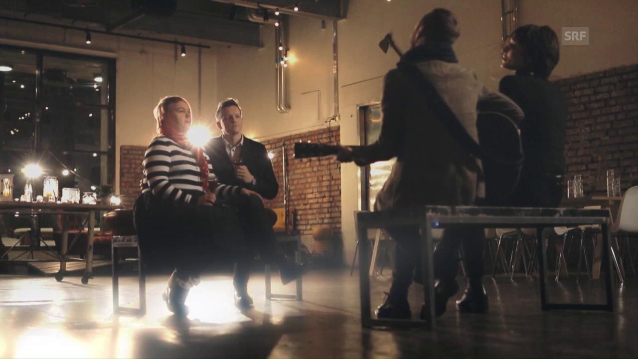 Bewerbungs-Aufruf für «Ich schänke dir es Lied» - die neue Musikshow von SRF