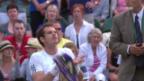 Video «Murray unzufrieden über Schliessung des Daches» abspielen