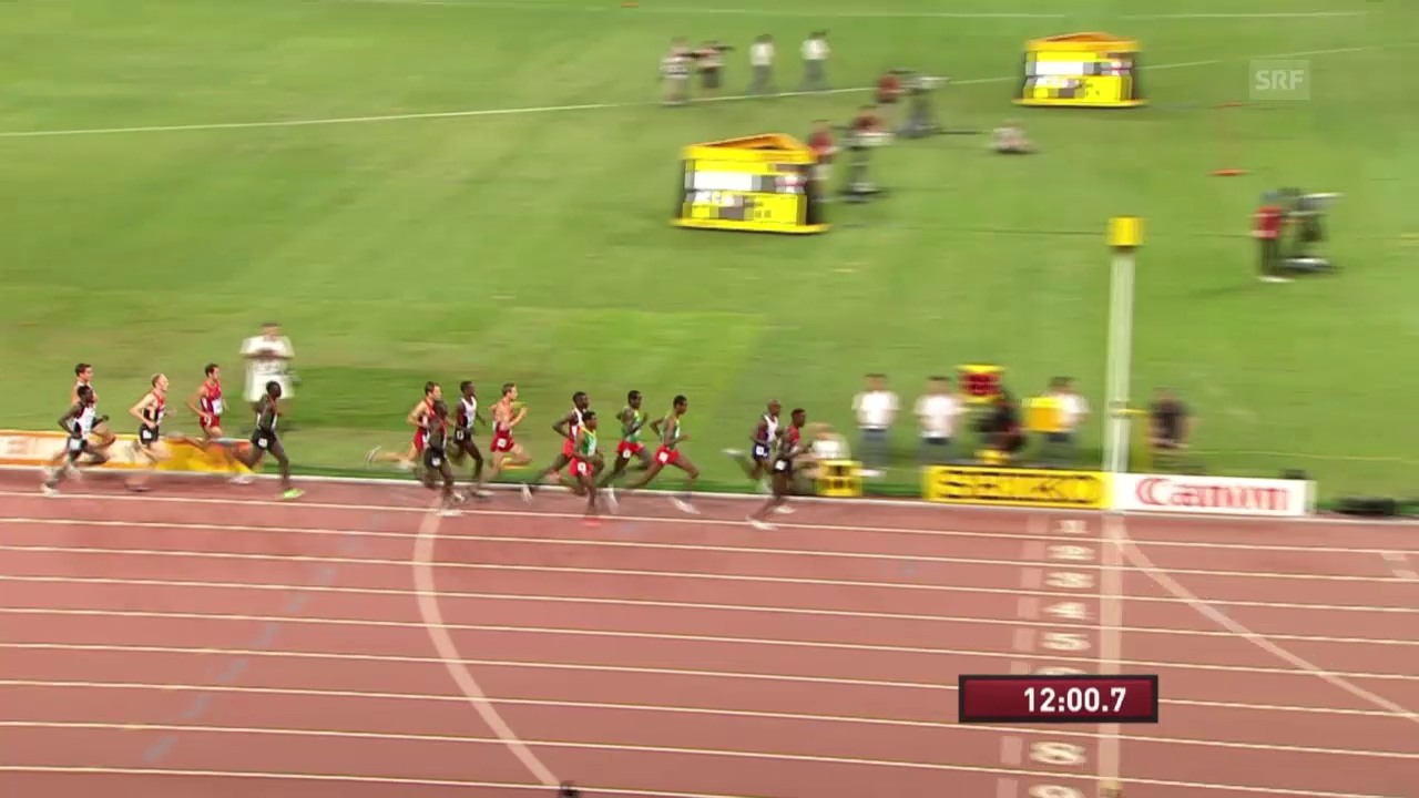 Leichtathletik WM: 5000 m Männer Final