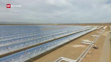 Öl-Serie: Strom aus der Wüste