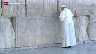 Video «Päpstliche Versöhnungsreise» abspielen