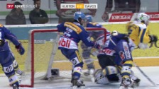 Video «Eishockey: Gerbers Schlag gegen Sciaroni («sportaktuell», 15.03.14)» abspielen