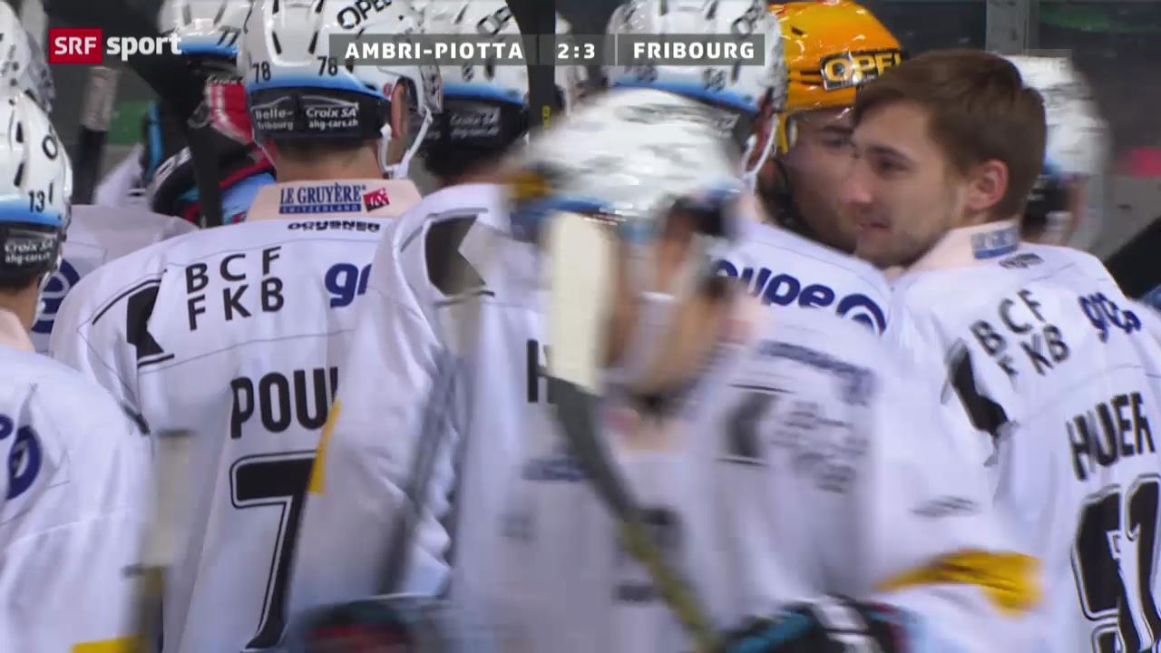 Eishockey: Ambri-Fribourg («sportaktuell»)