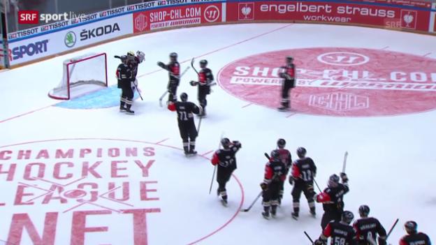 Video «CHL: Kärpät Oulu reicht ein 2:2 gegen Lukko Rauma Zur Final-Quali» abspielen