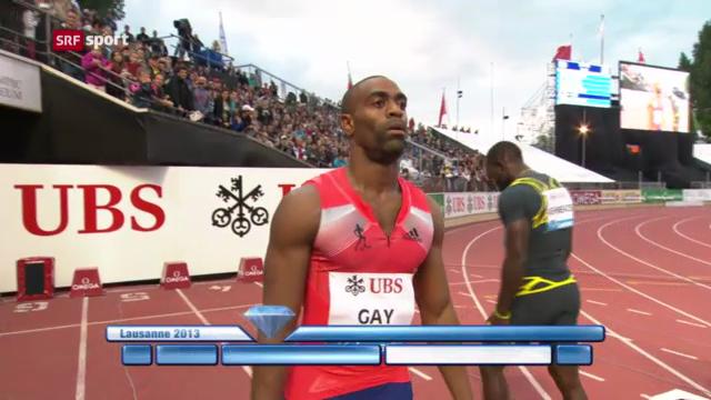 Tyson Gay positiv getestet («sportpanorama»)