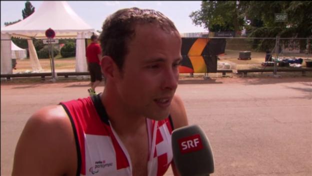 Video «Interview mit Marcel Hug» abspielen