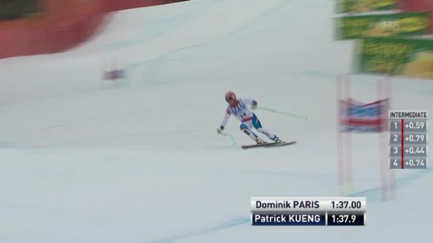 Video «Fahrt von Patrick Küng («sportlive»)» abspielen