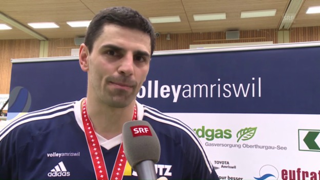 Video «Interview mit Amriswils Aleksandar Ljubicic» abspielen