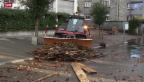 Video «Schäden nach dem grossen Regen» abspielen