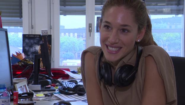 Video «Bianca Gubser freut sich auf die Hochzeit» abspielen