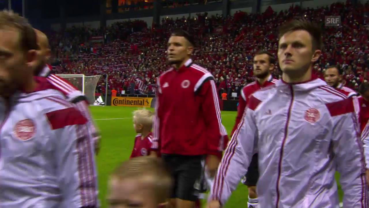 Fussball: Zusammenfassung Dänemark-Albanien