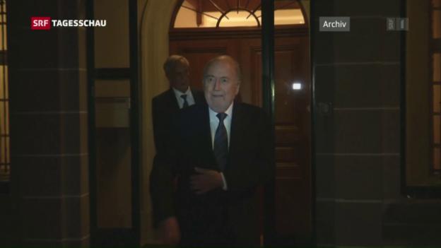 Video «Keine Gnade für Blatter» abspielen