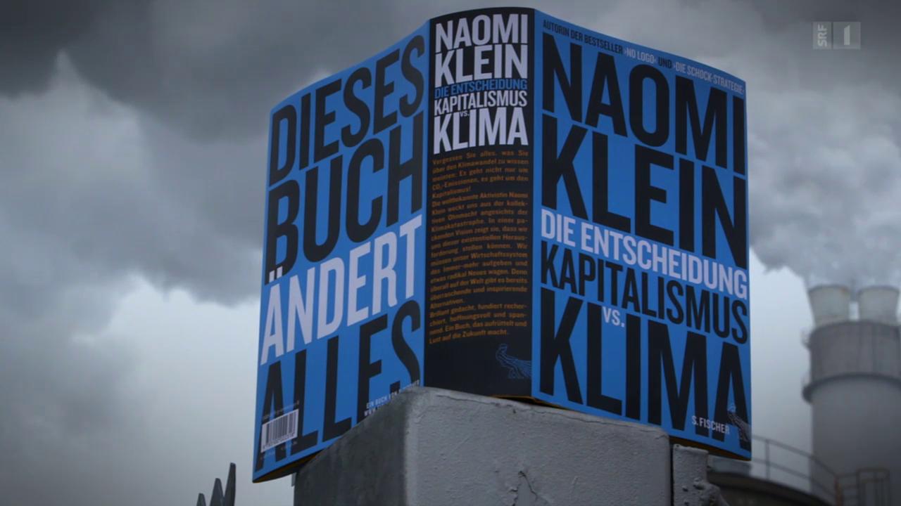 Klimakatastrophe als Chance – Naomi Kleins Plädoyer