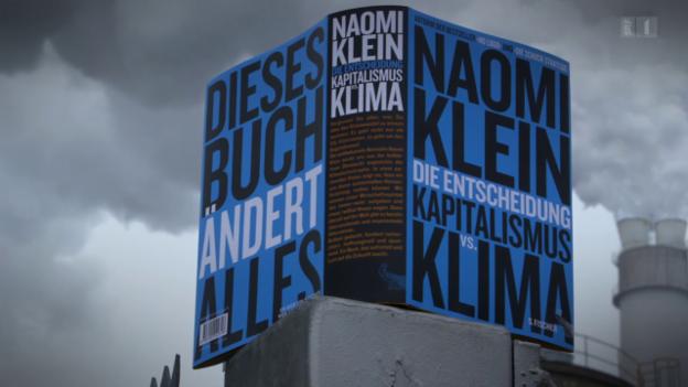Video «Klimakatastrophe als Chance – Naomi Kleins Plädoyer» abspielen