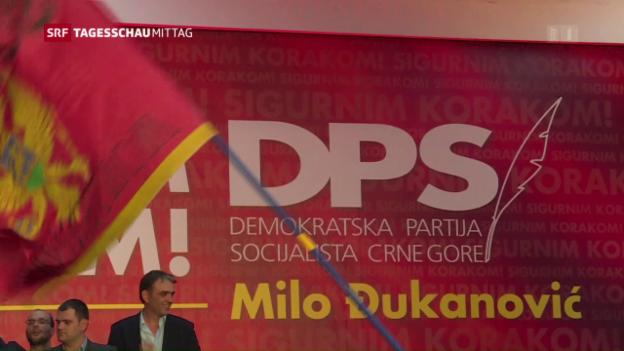 Video «Wahlen Montenegro: Regierungschef sieht sich bestätigt» abspielen