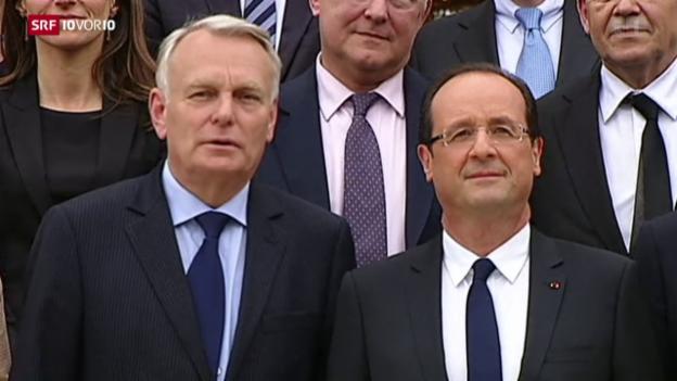 Video «Regierungsumbildung in Frankreich» abspielen