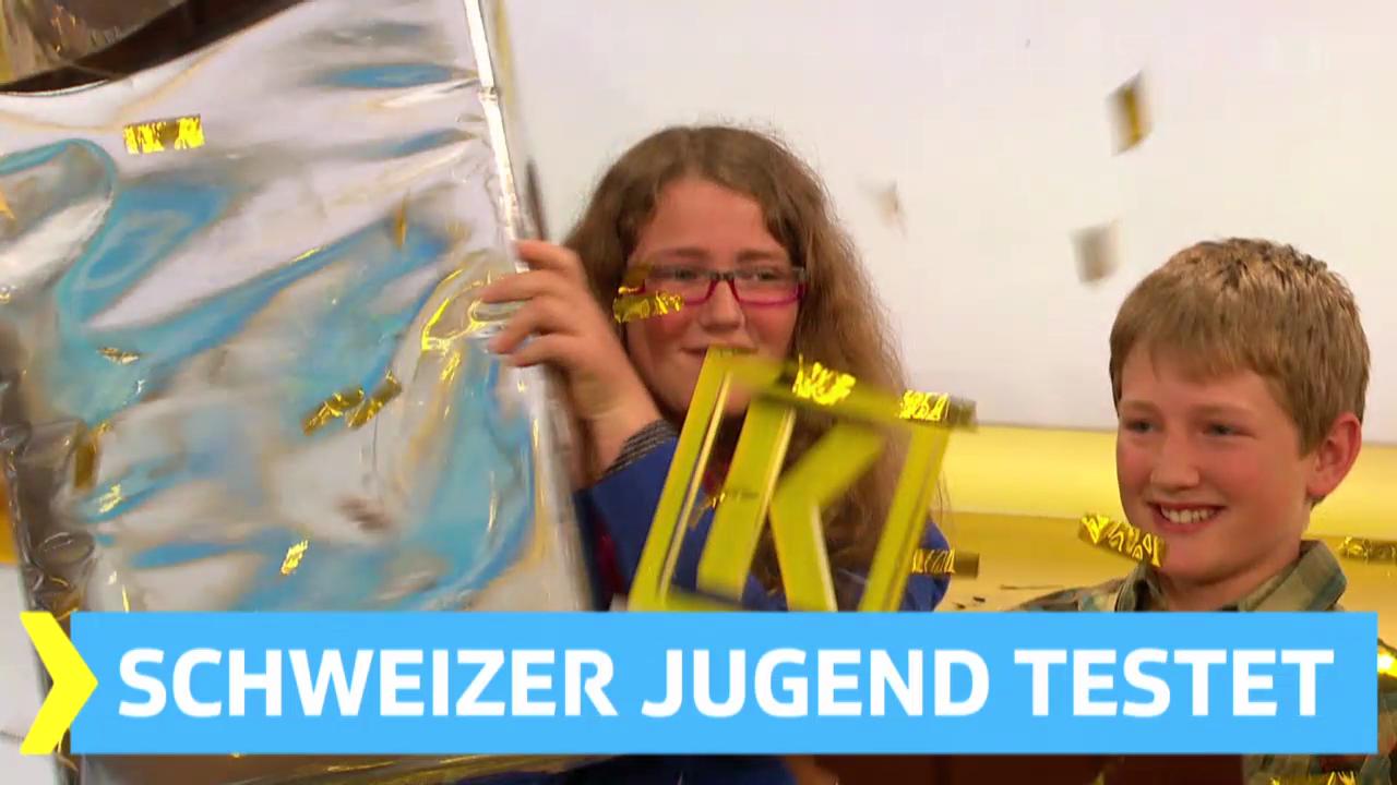 Schweizer Jugend testet: Startschuss zum Schüler-Wettbewerb
