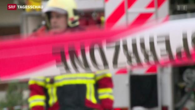 Video «Zwei Opfer nach Explosion in Steffisburg» abspielen