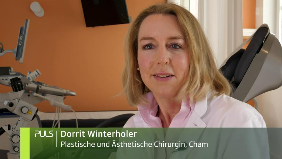 Dorrit Winterholer: «Im Zeitalter von Social Media, Medien und Pornografie haben die Operationen extrem zugenommen.»