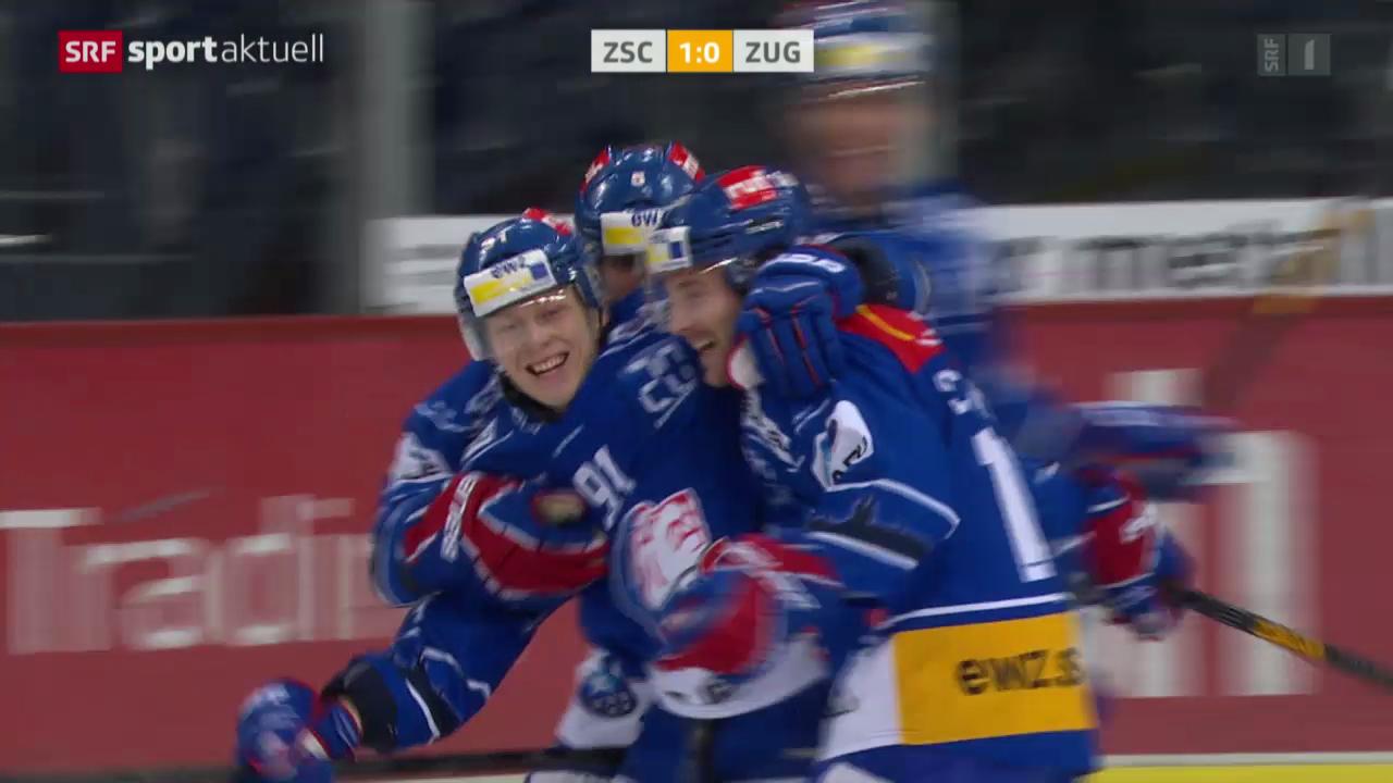 Eishockey: NLA, ZSC Lions - Zug