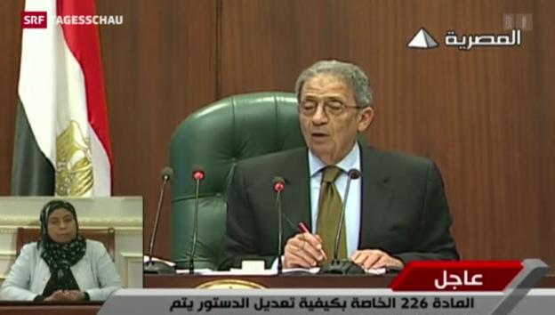 Video «Mehr Macht für Militärs in Ägypten» abspielen