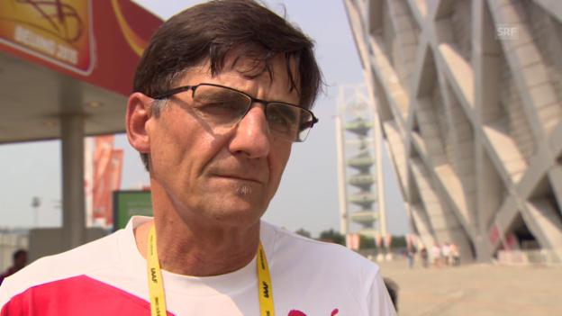 Video «Leichtathletik: WM in Peking, Fazit von Peter Haas» abspielen