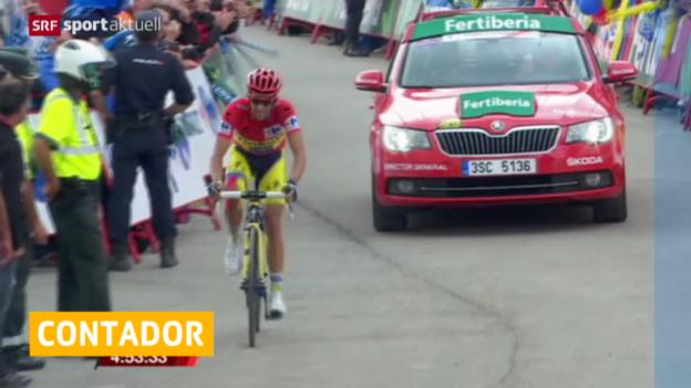 Video «Rad: Contador verzichtet auf Strassen-WM» abspielen
