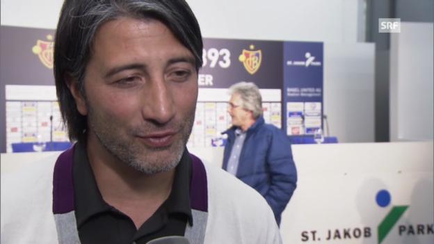Video «FCB-Trainer Yakin zur Verpflichtung von Bobadilla» abspielen