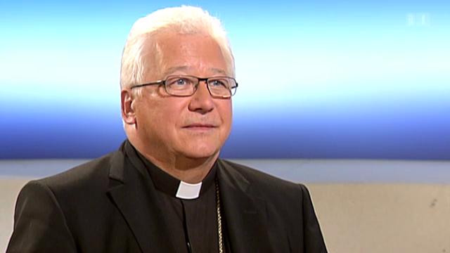Theke: Bischof Markus Büchel