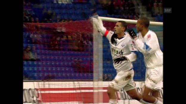 Video «4:3-Spektakel-Sieg des FCZ in Basel im Cup-Achtelfinal 2005» abspielen