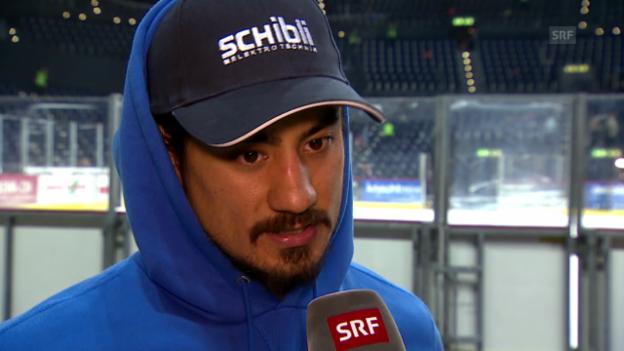 Video «Eishockey: Blum im Interview» abspielen