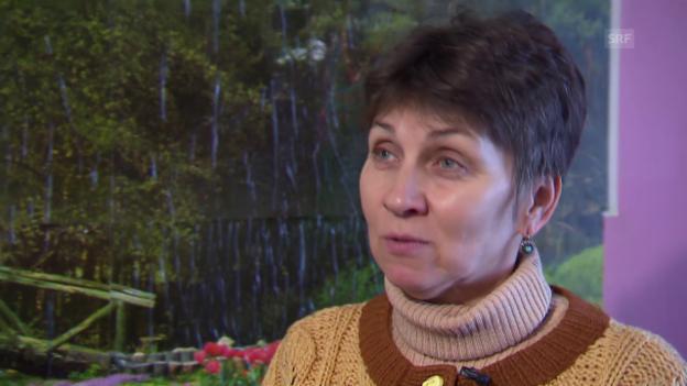 Video «Tatjana Kalugina: «Marina schwärmte von der Schweiz»» abspielen