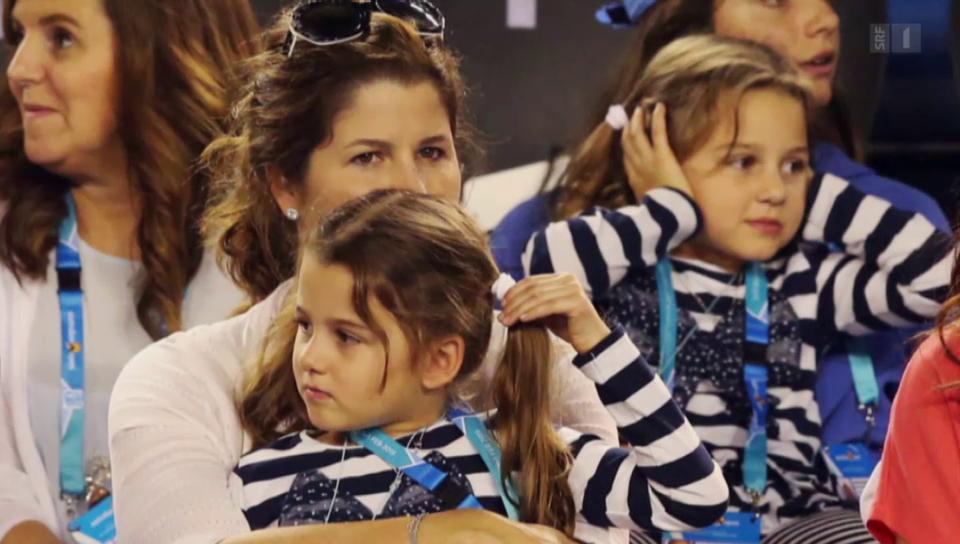 Geburtstag hoch zwei: Federers Zwillingsmädchen werden sechs