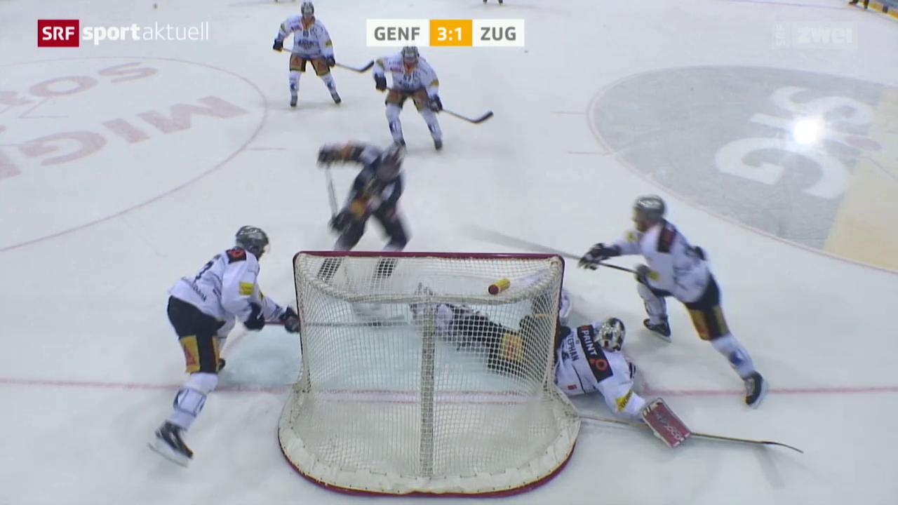 Eishockey: Genf-Zug