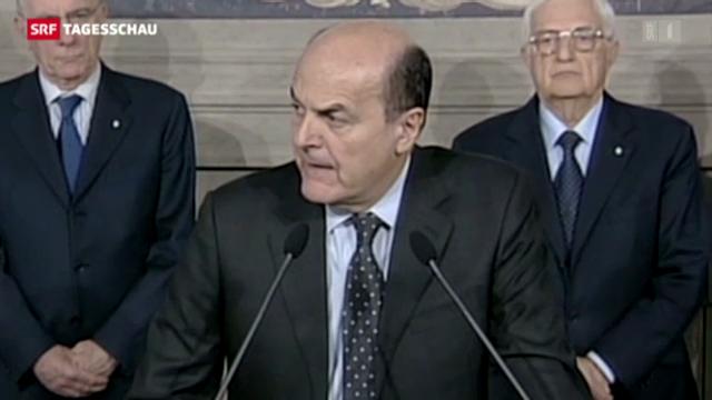 Bersani soll Italiens neue Regierung bilden
